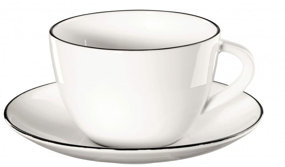 ASA Kaffeetasse mit Untertasse á Table Ligne Noire