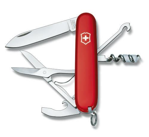 Victorinox Offiziersmesser Compact rot