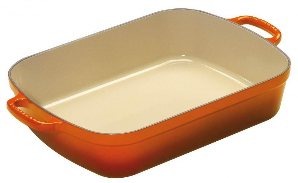 Le Creuset Bratreine in ofenrot