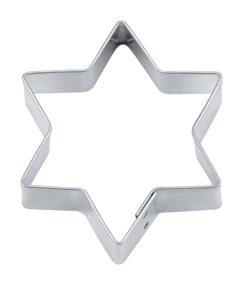 Städter Ausstechform Stern 15 cm / H 3 cm 6-zackig