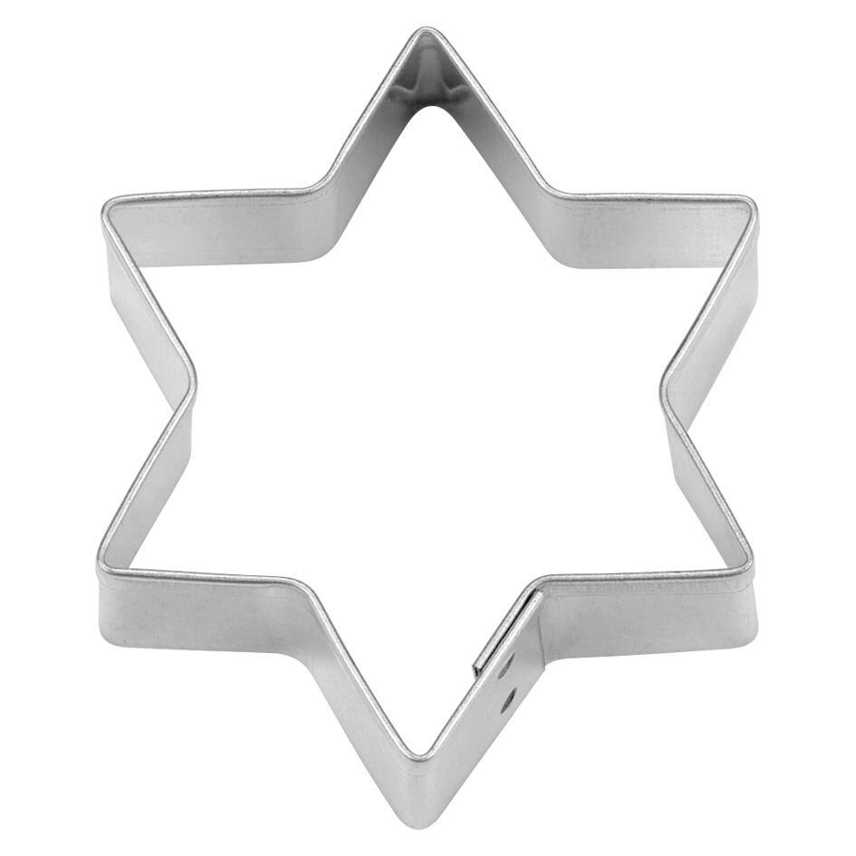 Städter Ausstechform Stern 11,5 cm / H 2,5 cm 6-zackig