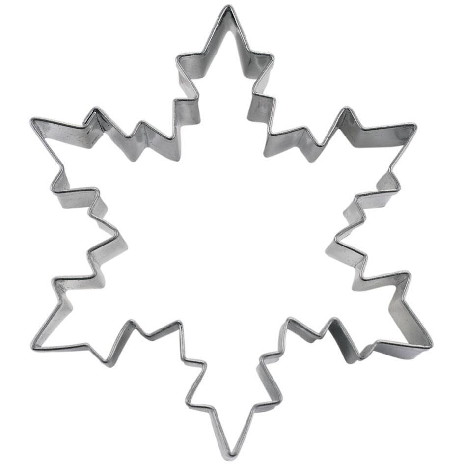 Städter Ausstechform Eiskristall 6 cm
