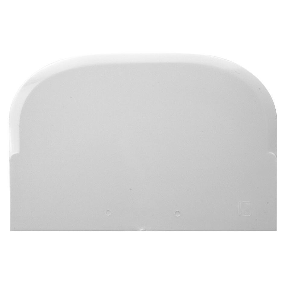 Städter Backhelfer Teigschaber 10 x 15 cm Weiß