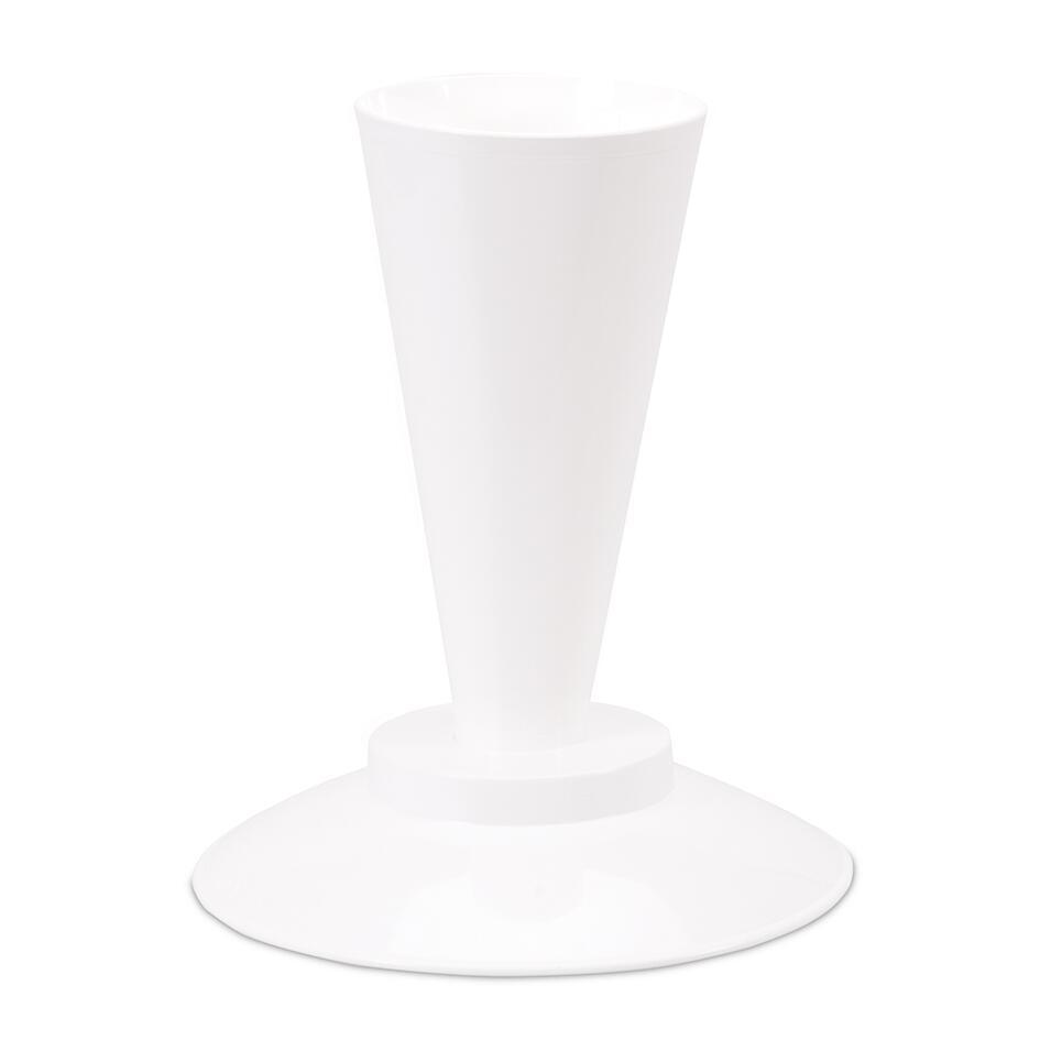 Städter Kunststoff-Ausstecher-Form Absetzständer für Spritzbeutel ø 19,5 cm / H 20 cm