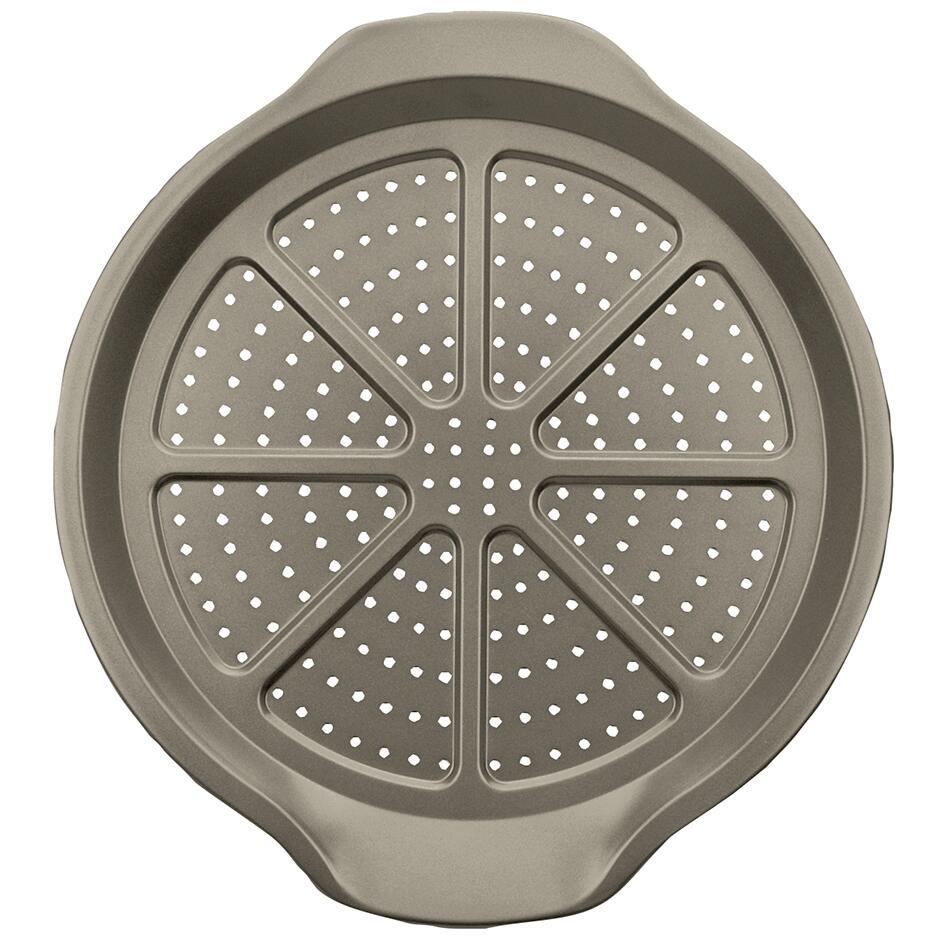Städter Backform Pizza- & Pommes-Blech Ø 30 cm mit Spezial-Lochung