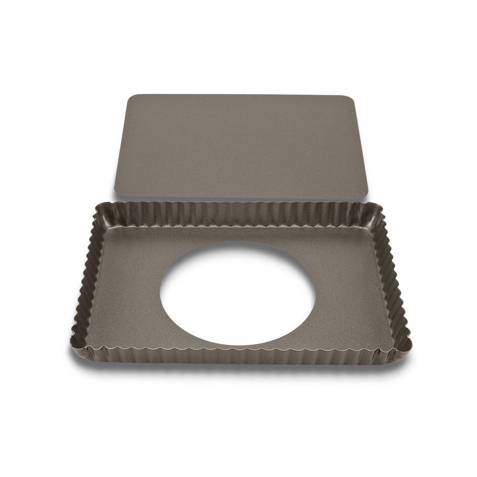 Städter Backform Tarteform mit Hebeboden 29 x 20 cm / H 3 cm Rechte 1.400 ml