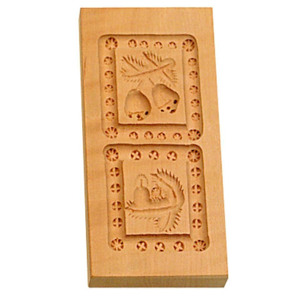 Städter Holzserie 2 Motive 5,5 x 12 cm