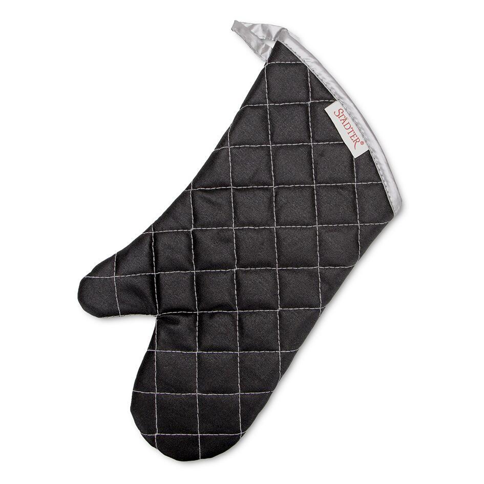 Städter Backhelfer Backhandschuh 36,5 x 18 cm Schwarz
