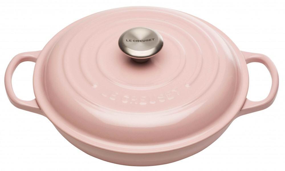 Le Creuset Gourmet-Profitopf Signature in chiffon pink, 26 cm