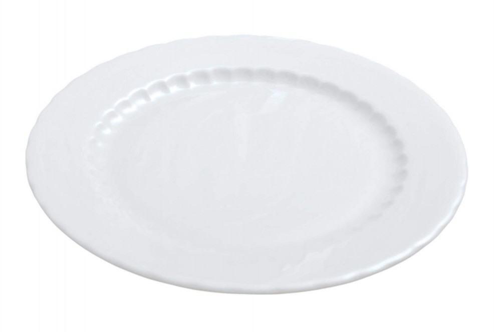 Pillivuyt Teller flach Eclectique Sarlat in weiß