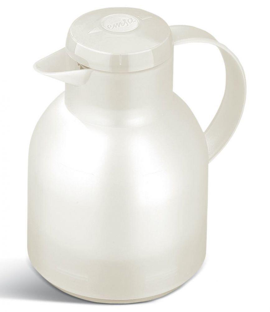 Emsa Isolierkanne Samba weiß, 1,0 l