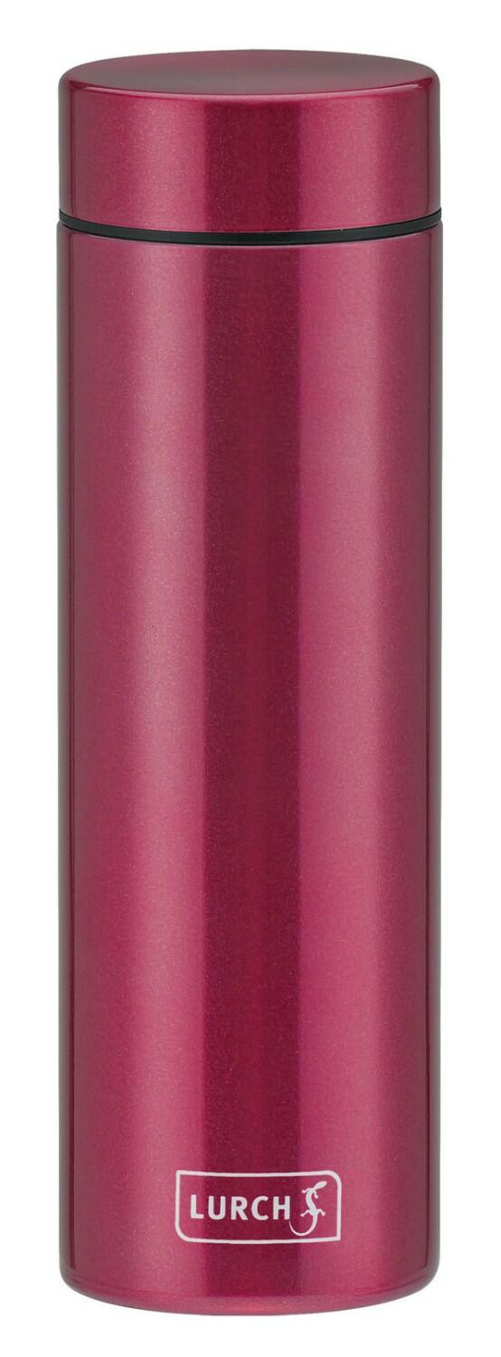 Lurch Isolierflasche Lipstick in berry red