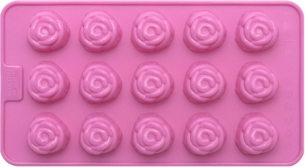 Birkmann Pralinen- & Schokoladenförmchen Rose