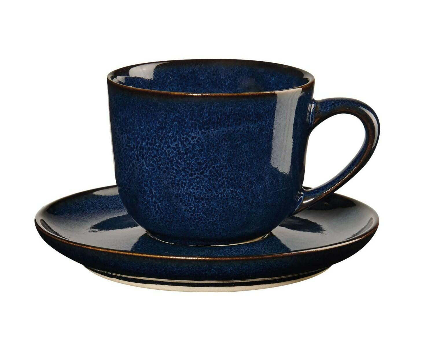 ASA Espressotasse mit Untertasse Saisons midnight blue