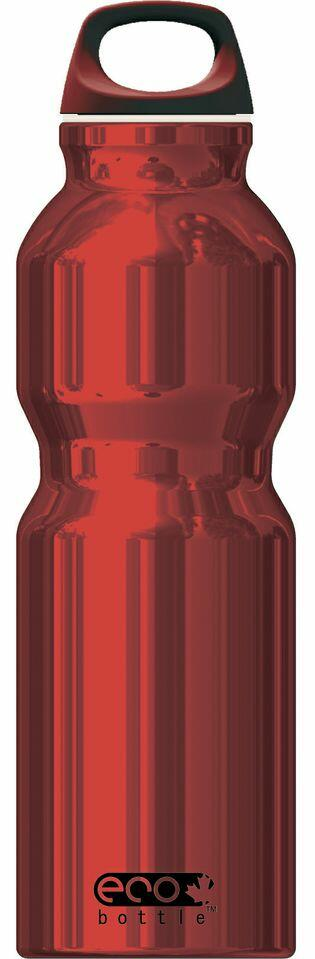 Eco Bottle Trinkflasche Basicline 1000 ml in red shiny