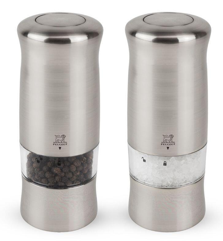 PEUGEOT Pfeffer- & Salzmühle Zeli elektrisch im Geschenkset