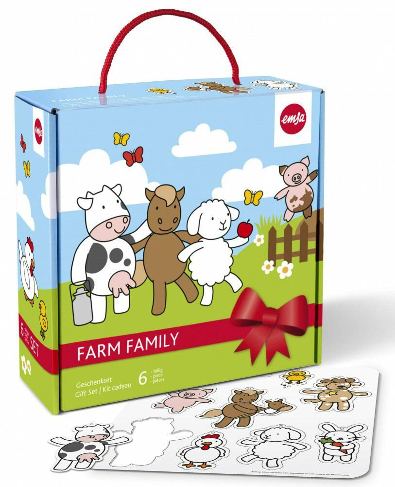 Emsa Farm Farm Family Baby-Set, 6-teilig