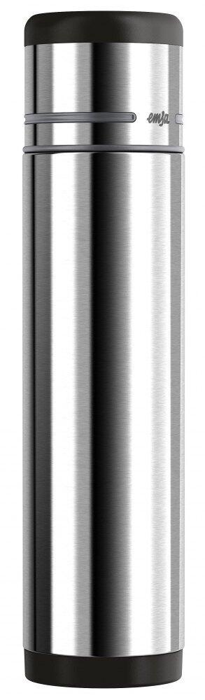 Emsa Isolierflasche Mobility Edelstahl/Schwarz