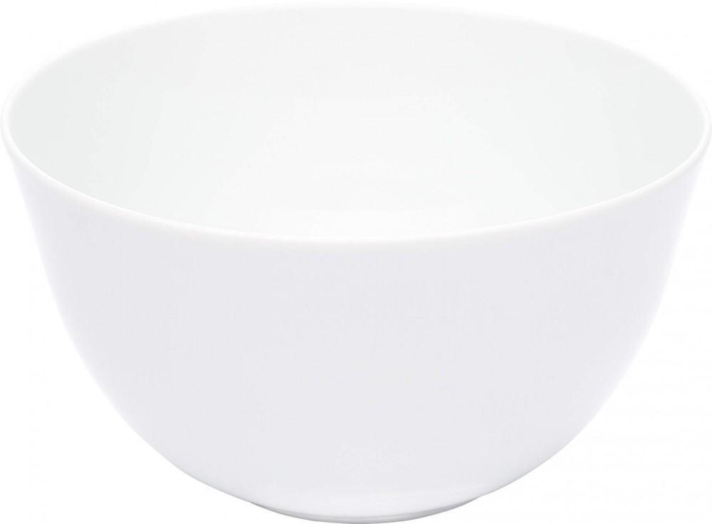 Kahla Update Salatschüssel, rund 19 cm in weiß