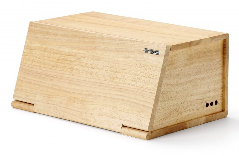 Continenta Brotkasten aus Gummibaumholz
