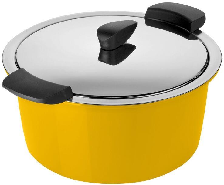 Kuhn Rikon Hotpan Servierkochtopf in gelb