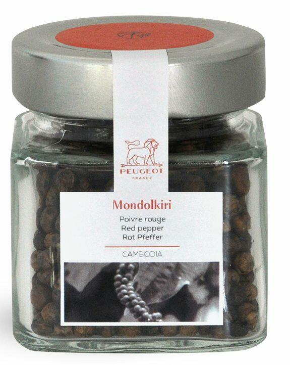 PEUGEOT Roter Mondolkiri-Pfeffer, 65g