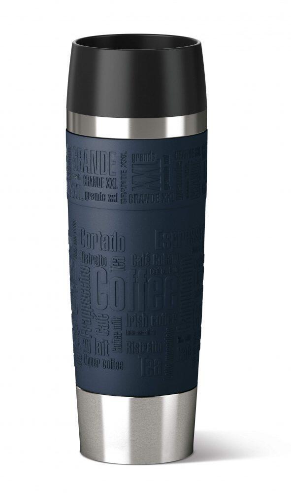 Emsa Isolier-Trinkbecher Travel Mug Grande in blau