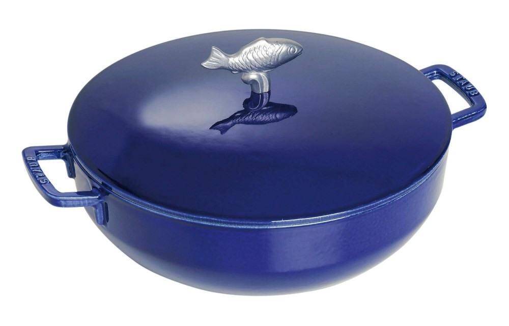 Staub Bouillabaisse Topf in dunkelblau