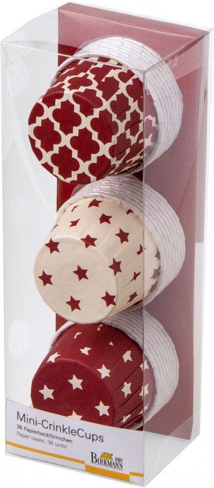 Birkmann Muffin-Becher Mini-CrinkleCups Sterne