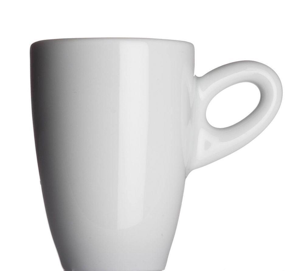 Collezione ALTA Espressotasse von Porzellanfabrik Walküre, weiß