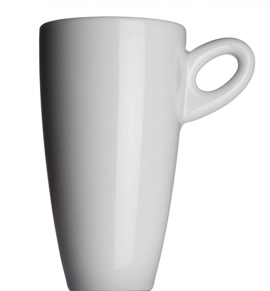 Collezione ALTA Latte macchiato Tasse von Porzellanfabrik Walküre, weiß
