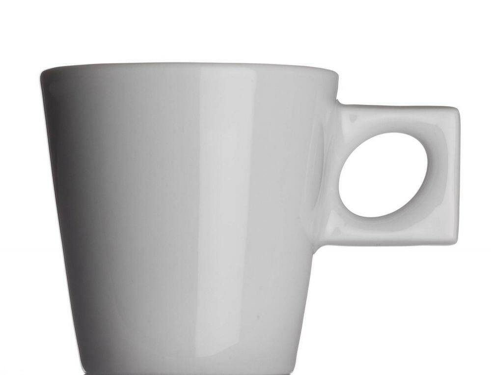 NYNY Espressotasse von Porzellanfabrik Walküre, weiß