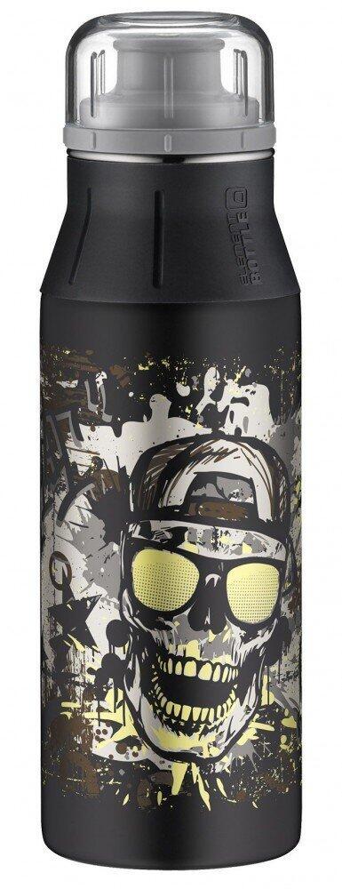 alfi Trinkflasche elementBottle Glowing Skull, 0,6 Liter