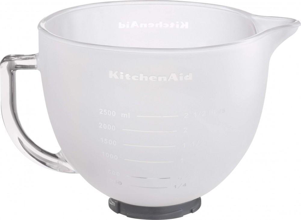 KitchenAid Glasschüssel 4,83 L, milchig