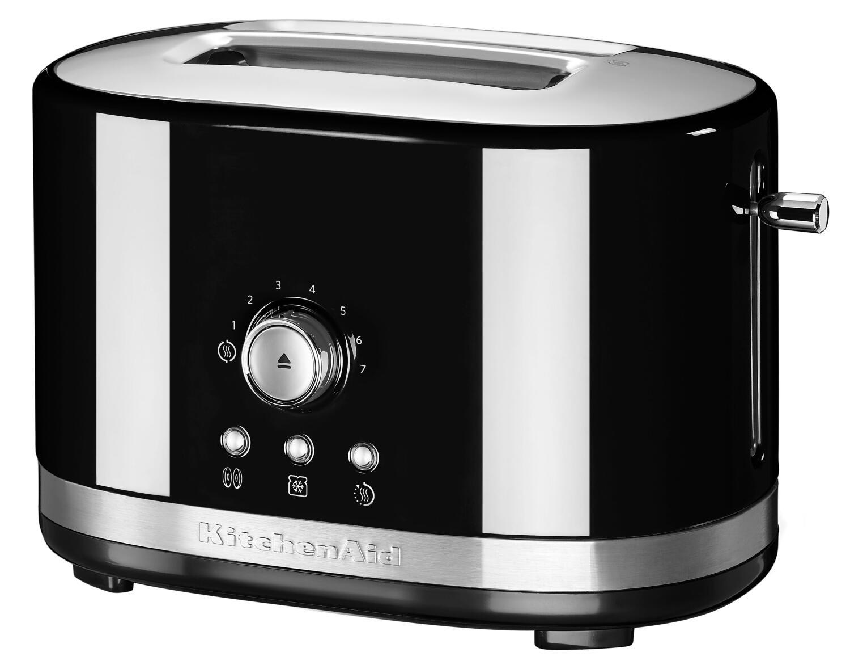 KitchenAid Toaster mit manueller Bedienung 2-Scheiben in onyx schwarz