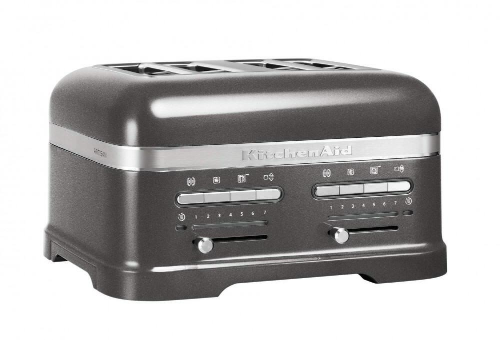 KitchenAid Toaster ARTISAN 4-Scheiben in medallion silber
