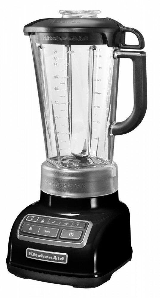 KitchenAid Blender / Standmixer Rautendesign in onyx schwarz