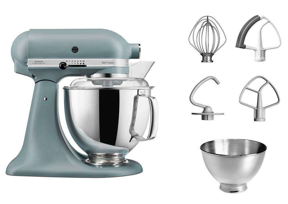 KitchenAid Küchenmaschine ARTISAN 175PS in nebelblau