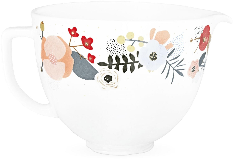 KitchenAid Keramikschüssel in scandi floral, 4,7 L