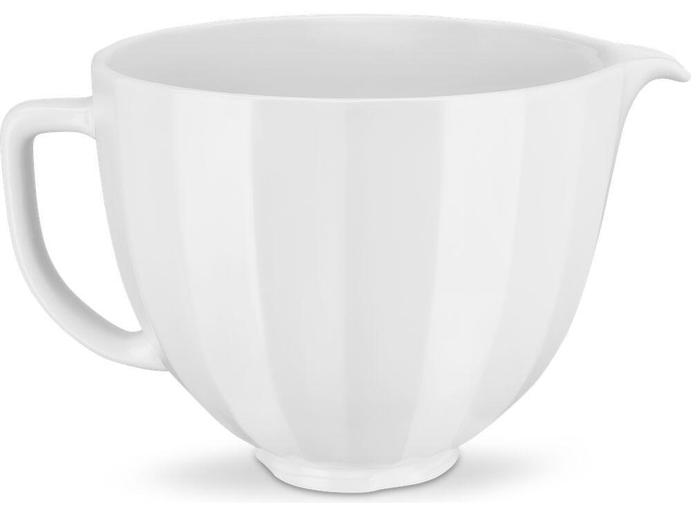 KitchenAid Keramikschüssel in white shell, 4,7 Liter