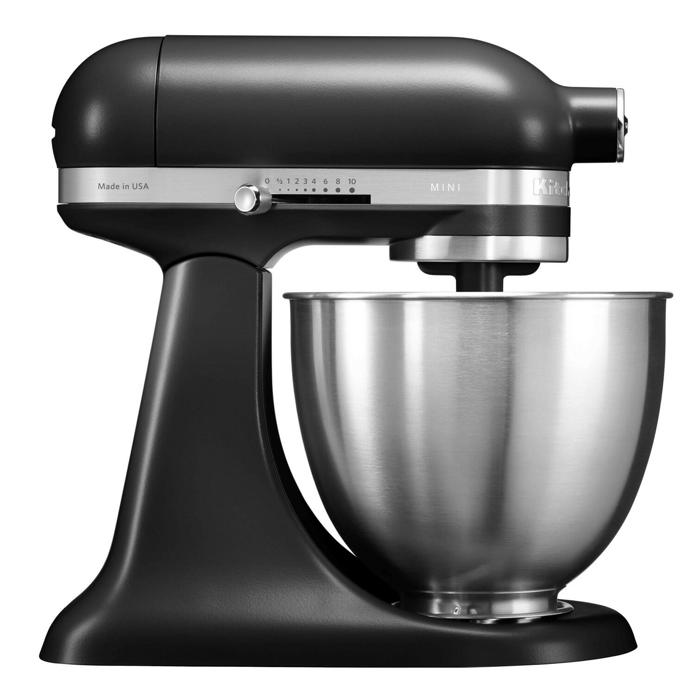 KitchenAid Mini-Küchenmaschine in mattschwarz, 3,3 L