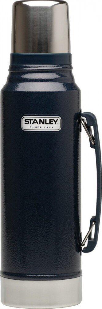Stanley Classic Isolierflasche 1 Liter navy blau