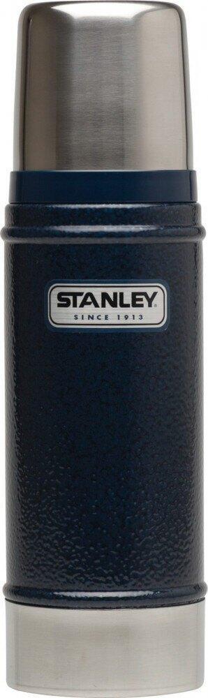Stanley Classic Isolierflasche 0,47 Liter navy blau
