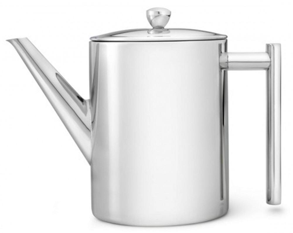 Bredemeijer Teekanne Minuet Cylindre hochglanzpoliert, 1,2 Liter