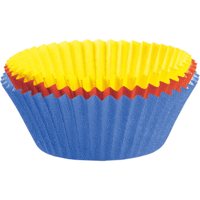 Kaiser Mini-Muffin-Papierbackförmchen farbig, 150 Stück