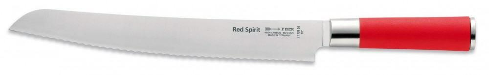 Dick Brotmesser Red Spirit mit Wellenschliff