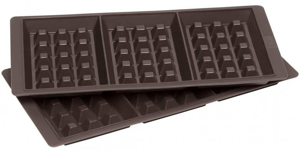 lurch flexiform waffel aus silikon 2er set kochform. Black Bedroom Furniture Sets. Home Design Ideas