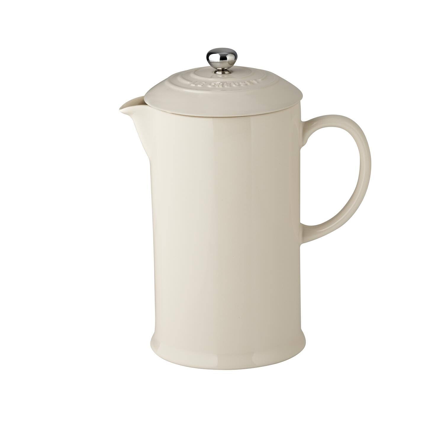 Le Creuset Kaffeebereiter in creme
