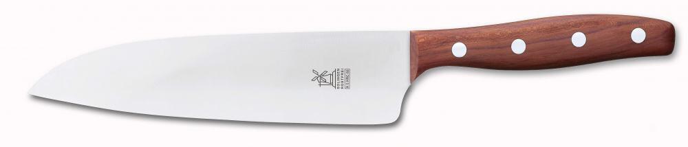 Windmühlenmesser K5 Großes Kochmesser HRC 60 in Pflaume (rostfrei)