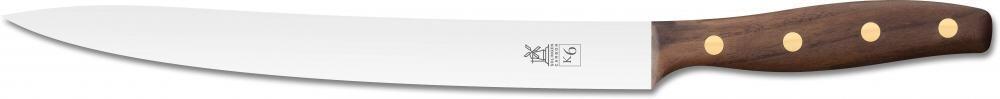 Windmühlenmesser Fleisch- und Filiermesser K6 in Walnuss (rostfrei)